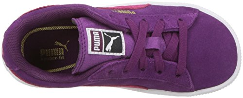 PUMA Baby Suede Kids Sneaker, Dark Purple-Love Potion, 10 M US Toddler by PUMA (Image #8)