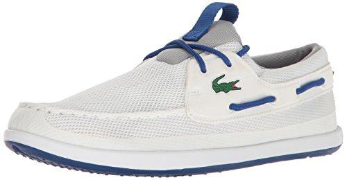 Lacoste Heren L.andsailing 117 1 Casual Schoenenmode Sneaker Wit