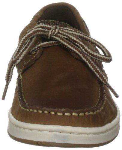 Zapatos Mujer Cordones Marrón Para Quayside Cuero De AzwqxUUR6