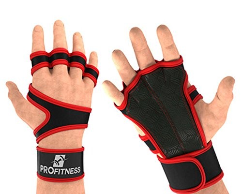 ProFitness Cross hiking Training Gloves With Wrist Support