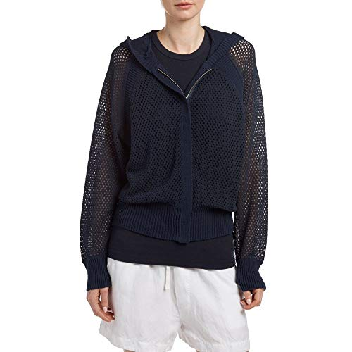 (ジェームス パース) JAMES PERSE レディース トップス カーディガン Open Stitch Hooded Cardigan [並行輸入品]
