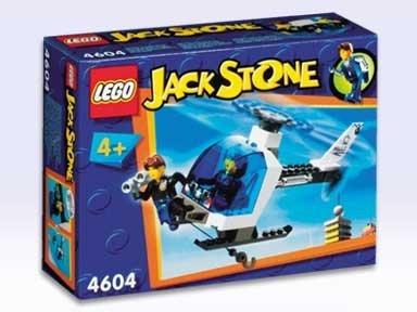 Lego # 4604 - Jack Stone - Police Copter