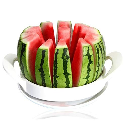 Watermelon Slicer Fruit Cutter Stainless Steel Fruit Melon Slicer Kitchen Utensils Gadgets Large Melon Slicer by Luckfind (Image #1)