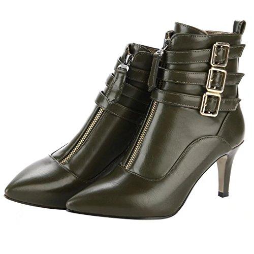 Classic Women's Green Classic AIYOUMEI Green AIYOUMEI AIYOUMEI Classic Boot Green Women's Boot Women's AIYOUMEI Boot Classic Women's FwOBwqxta