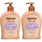 Coppertone Sunless Gradual Tanning Lotion-9 oz, 2 pack