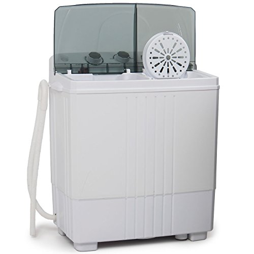 Della Small Compact Portable Washing Machine Washer 11lbs