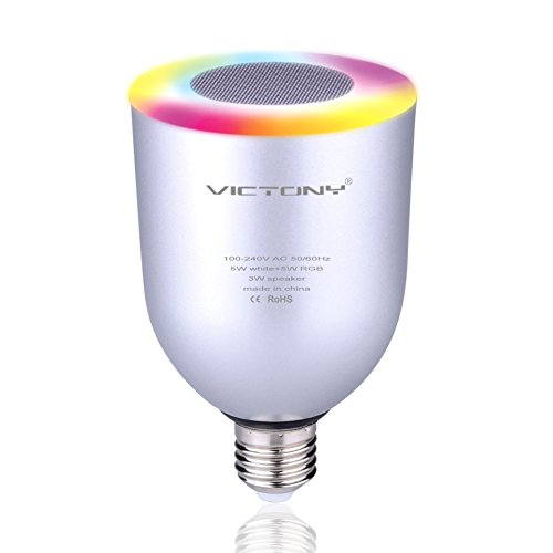 VICTONY Bluetooth Smartphone Controlled Multicolored Changing