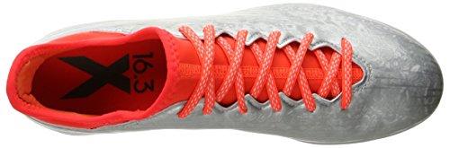 Adidas Hombres Rendimiento De 16,3 X En El Fútbol De Zapatos Metálico Plateado / Negro / Infrarrojos