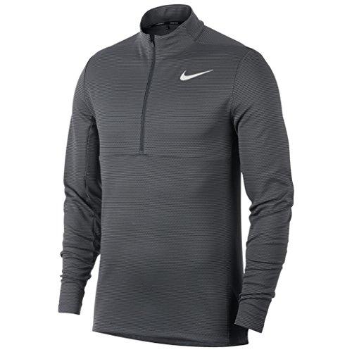 Nike AeroReact Top Half Zip Golf Pullover 2017 Dark Gray/Black/White - Nike Free Returns