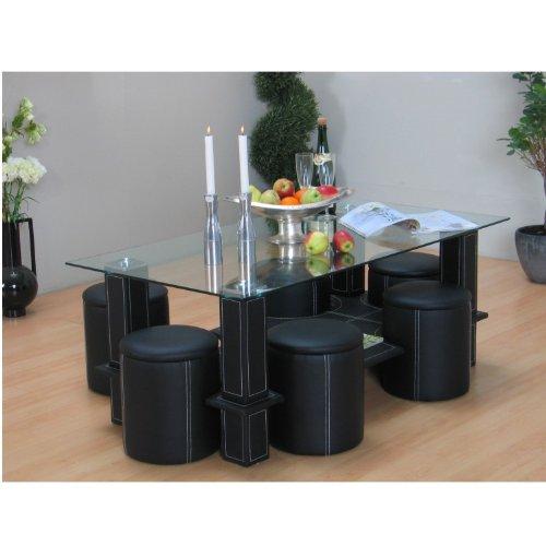 couchtisch 6 hocker bestseller shop f r m bel und. Black Bedroom Furniture Sets. Home Design Ideas