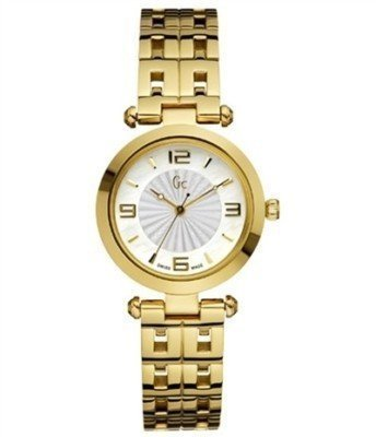 GUESS Gc Swiss B-1 Class Gold-Tone Stainless Steel Ladies Watch G17005L1