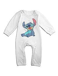 Lilo And Stitch Wink Baby Onesie Romper Jumpsuit Bodysuits