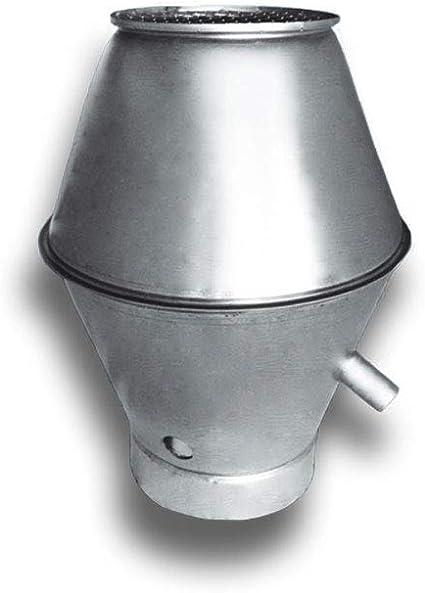 K02 - Campana extractora (sistema de acero galvanizado, diámetro de 125 mm): Amazon.es: Bricolaje y herramientas