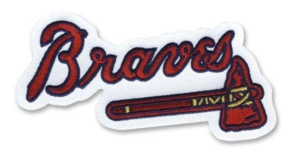 (MLB Atlanta Braves Embroidered Team Logo Collectible Patch)