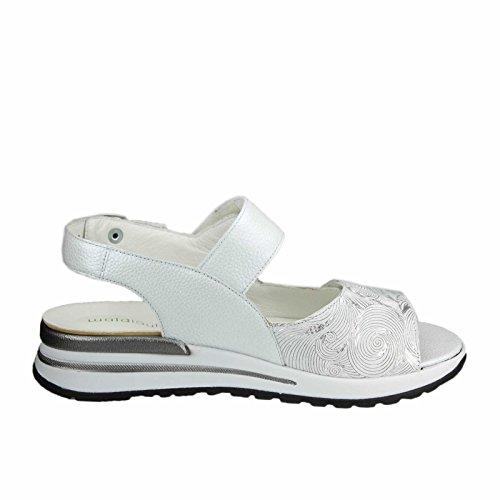 Waldläufer Sandalias de Vestir Para Mujer Weiß