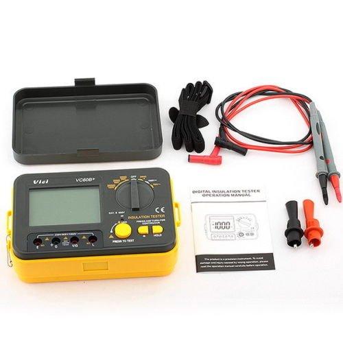 Price comparison product image Vichy Vc60b+ Digital Insulation Resistance Tester Megohmmeter Meter