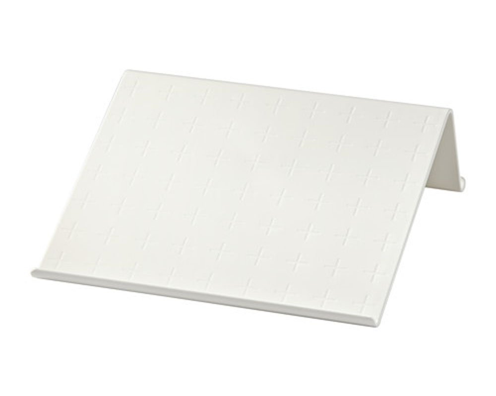 Isberget Office Table Top Tablet Stand, White
