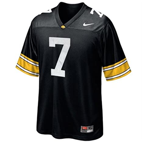 finest selection fb00f 4a4f9 Amazon.com : Nike Iowa Hawkeyes Boy's Replica Football ...
