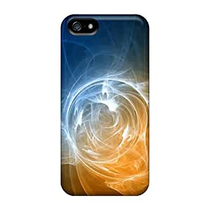 Iphone 5/5s Abstract Swirls Print High Quality Frame Cases Covers