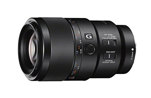 Sony SEL90M28G FE 90mm f/2.8-22 Macro G OSS Standard-Prime Lens for Mirrorless Cameras by Sony