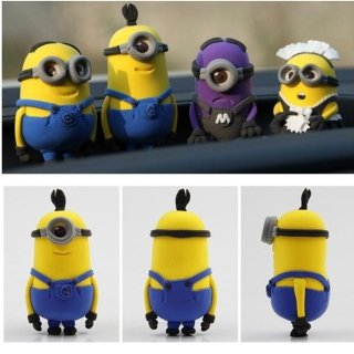 Minion Kevin Model Ultralight 3D Colored Modeling Clay DIY Intelligence Toy by Completestore (Minions Movie: Minion Kevin Adult Costume)