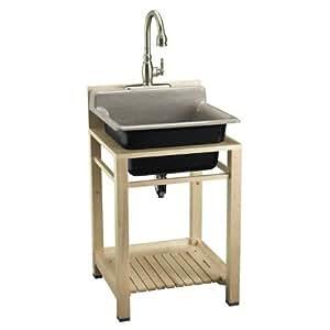 Kohler K 6618 Na Bayview Wood Sink Stand Bathroom