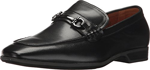 umi Boys' Azriel II Loafer, Black, 40 EU/7 M US Big Kid