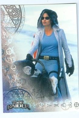 Angelina Jolie Trading Card Lara Croft Tomb Raider 2001 Inkworks 59 At Amazon S Entertainment Collectibles Store