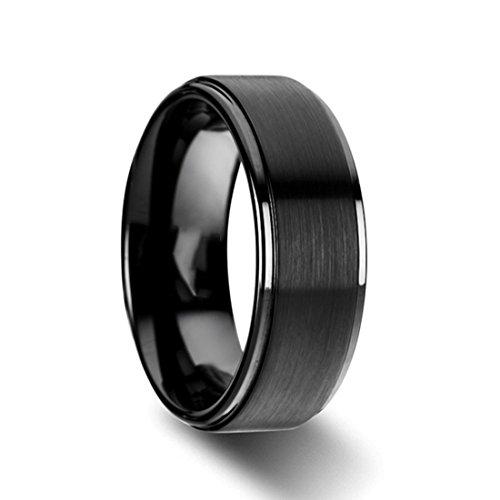 Titanium Wedding Rings Comfort Finish product image