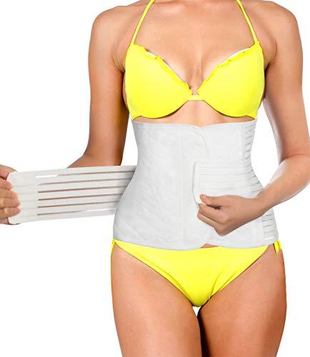 340417567d4 Invisible Postpartum Belly Band Wraps Women Waist Trainer Trimmer Slim Belt  Abdominal Binder Tummy Shrinker (