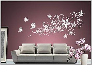 wall tattoo adesivi murali adesivo muro tatuaggio Soggiorno Camera ...