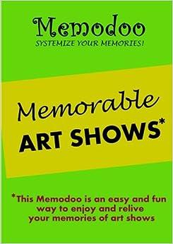 Book Memodoo Memorable Art Shows
