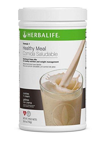 Herbalife Formula 1 Healthy Meal Nutritional Shake Mix.Flavor (Cookies 'n Cream) by Herbalife