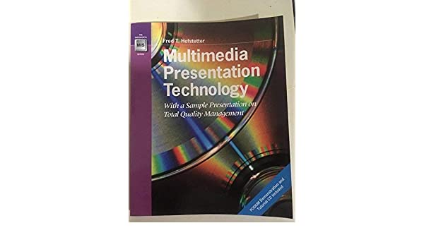 Amazon com: Multimedia Presentation Technology: With a Sample