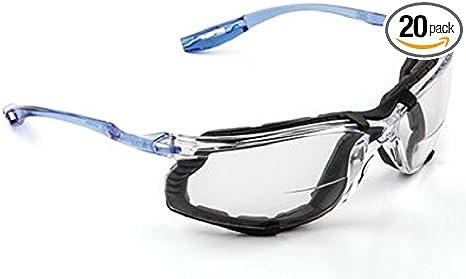 4 Pack Foam Gasket 3M 11874 Virtua Eyewear Indoor//Outdoor Mirror Anti Fog