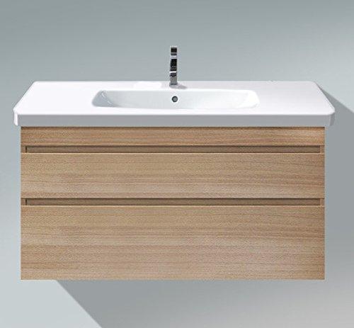 Oak Bathroom Vanity Unit - 1