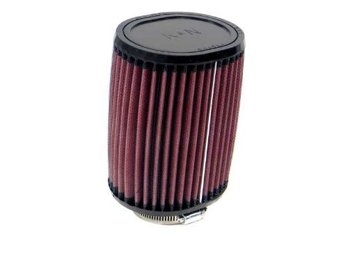 Height; 4.5 in x 3.75 in 152 mm Flange ID; 6 in 114 mm x 95 mm Top K/&N Engineering 57 mm Base; 4.5 in x 3.75 in 114 mm x 95 mm K/&N RU-1150 Universal Clamp-On Air Filter: Oval Straight; 2.25 in