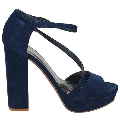 Platform Sandalen Blau On Spot Damen gqHBwE7E