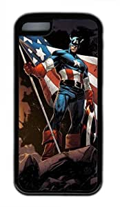 Customizablestyle Cartoon Beauty and the Beast ipod touch 4 touch 4 TPU Black Rubber Shell Case