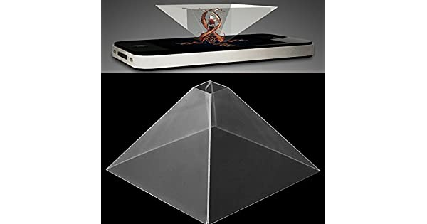Amazon.com: AOLUNO - Proyector de holograma para smartphone ...