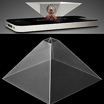 Cewaal Proyector del holograma de Smartphone, video ...