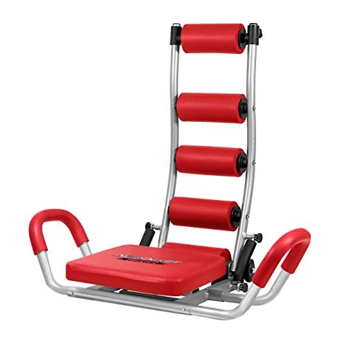 Fitness House 889957338196 Appareil abdominale de musculation Rouge