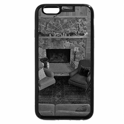 iPhone 6S Plus Case, iPhone 6 Plus Case (Black & White) - A Warm And Cosy Room