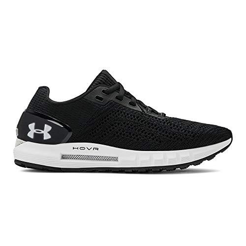 Under Armour Women's HOVR Sonic 2 Running Shoe, Black (003)/White, 6 M US