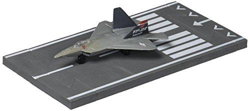 Hot Wings Daron F-22 Raptor - Dark Gray Military Colors (F Raptor 22 Toy)