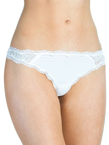 Felina Women's Stunning Thong, Ivory Medium