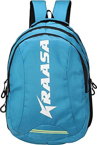 Kraasa Smart Backpack 30 L Laptop Backpack  Sky Blue