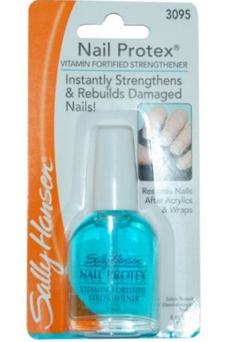 Amazon.com : Sally Hansen Nail Protex Vitamin-Fortified Strengthener ...