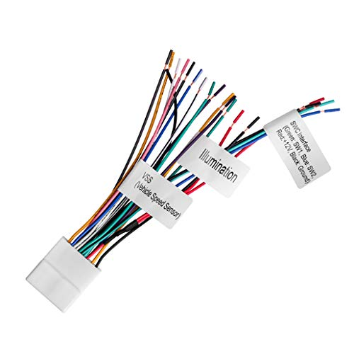radio wiring harness for nissan - 7