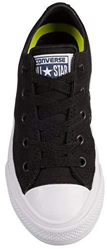 Star Donna Black Rosa Chuck All white Sneaker Barely Taylor Fuchsia Ox Converse Scamosciato t1ZIxqPw